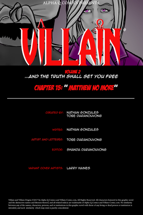Issue 15 Title Page