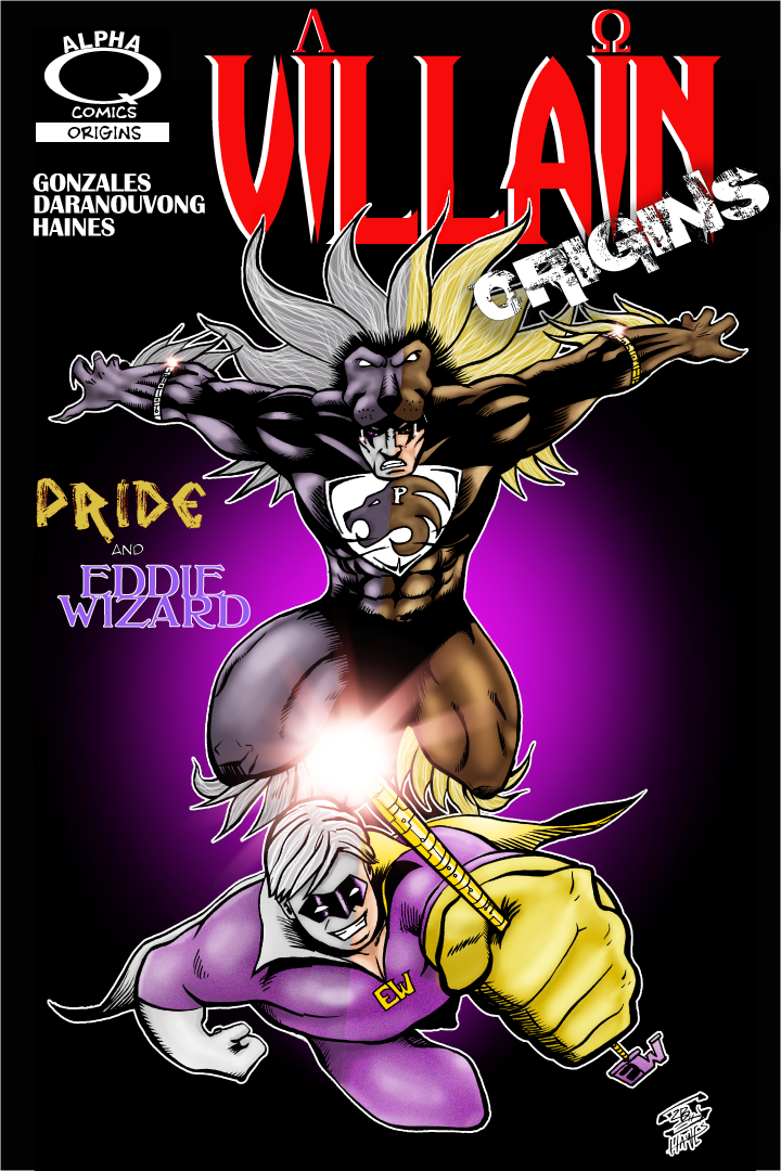 Villain Origins Pride And Eddie Wizard Cover