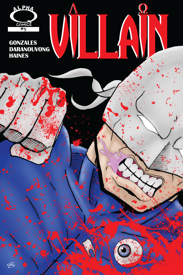 Villain Issue 5 Cover