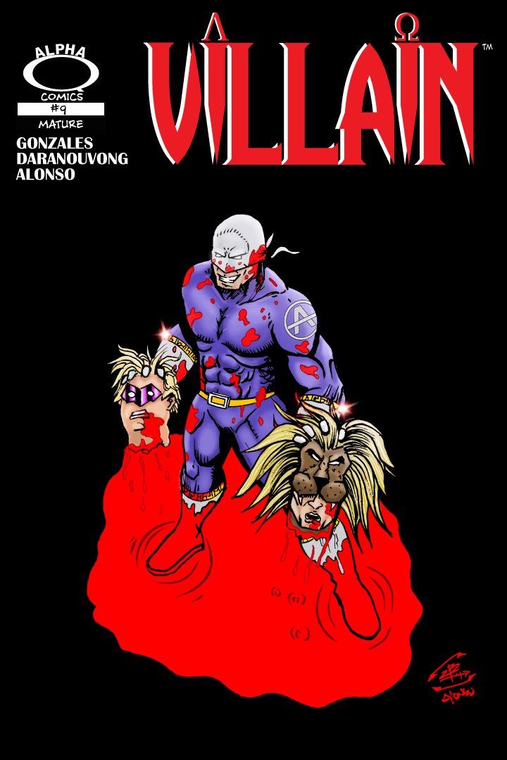 Villain Issue 9 Cover
