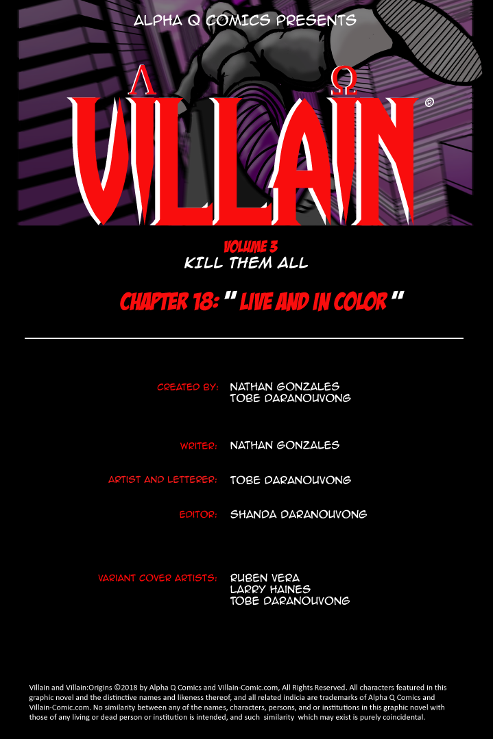Issue 18 Title Page