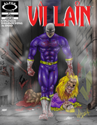 Villain Variant Cover by Warin Johnson